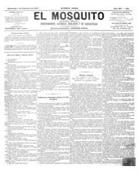 El Mosquito, February 1877 Volume Issue: February 1877 by Stein, Henri Frenchman