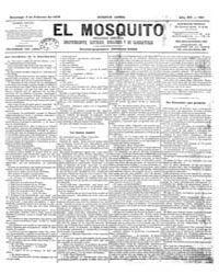 El Mosquito, February 1878 Volume Issue: February 1878 by Stein, Henri Frenchman