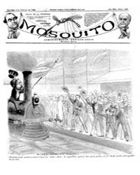 El Mosquito, February 1884 Volume Issue: February 1884 by Stein, Henri Frenchman