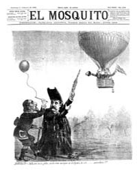 El Mosquito, February 1892 Volume Issue: February 1892 by Stein, Henri Frenchman