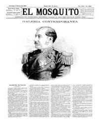 El Mosquito, February 1893 Volume Issue: February 1893 by Stein, Henri Frenchman