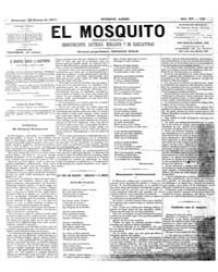 El Mosquito, January 1877 Volume Issue: January 1877 by Stein, Henri Frenchman