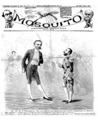 El Mosquito, January 1884 Volume Issue: January 1884 by Stein, Henri Frenchman
