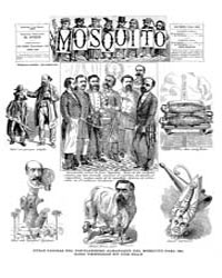 El Mosquito, January 1887 Volume Issue: January 1887 by Stein, Henri Frenchman