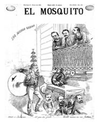 El Mosquito, January 1892 Volume Issue: January 1892 by Stein, Henri Frenchman
