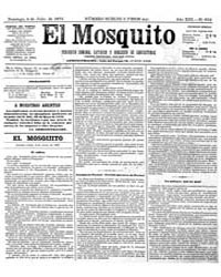 El Mosquito, July 1875 Volume Issue: July 1875 by Stein, Henri Frenchman