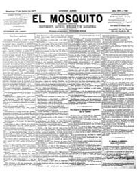 El Mosquito, July 1877 Volume Issue: July 1877 by Stein, Henri Frenchman
