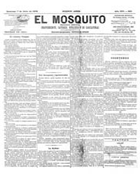 El Mosquito, July 1878 Volume Issue: July 1878 by Stein, Henri Frenchman