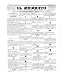 El Mosquito, July 1893 Volume Issue: July 1893 by Stein, Henri Frenchman