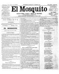 El Mosquito, June 1875 Volume Issue: June 1875 by Stein, Henri Frenchman