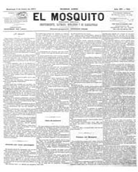 El Mosquito, June 1877 Volume Issue: June 1877 by Stein, Henri Frenchman