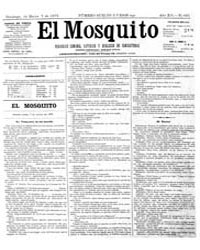El Mosquito, March 1875 Volume Issue: March 1875 by Stein, Henri Frenchman