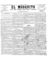 El Mosquito, March 1876 Volume Issue: March 1876 by Stein, Henri Frenchman