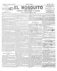 El Mosquito, March 1878 Volume Issue: March 1878 by Stein, Henri Frenchman