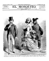 El Mosquito, March 1885 Volume Issue: March 1885 by Stein, Henri Frenchman