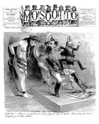 El Mosquito, March 1886 Volume Issue: March 1886 by Stein, Henri Frenchman