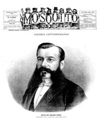 El Mosquito, March 1887 Volume Issue: March 1887 by Stein, Henri Frenchman