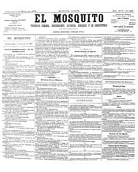 El Mosquito, May 1876 Volume Issue: May 1876 by Stein, Henri Frenchman