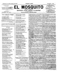 El Mosquito, November 1877 Volume Issue: November 1877 by Stein, Henri Frenchman