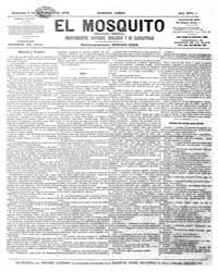 El Mosquito, November 1878 Volume Issue: November 1878 by Stein, Henri Frenchman