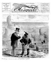 El Mosquito, November 1885 Volume Issue: November 1885 by Stein, Henri Frenchman