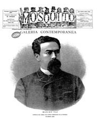 El Mosquito, November 1886 Volume Issue: November 1886 by Stein, Henri Frenchman