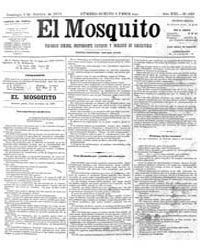 El Mosquito, October 1875 Volume Issue: October 1875 by Stein, Henri Frenchman