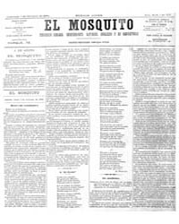El Mosquito, October 1876 Volume Issue: October 1876 by Stein, Henri Frenchman