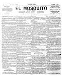 El Mosquito, October 1878 Volume Issue: October 1878 by Stein, Henri Frenchman