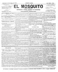 El Mosquito, October 1879 Volume Issue: October 1879 by Stein, Henri Frenchman