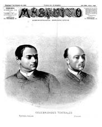 El Mosquito, October 1883 Volume Issue: October 1883 by Stein, Henri Frenchman