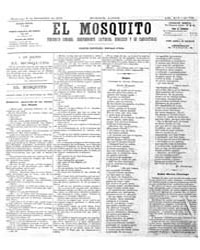 El Mosquito, September 1876 Volume Issue: September 1876 by Stein, Henri Frenchman