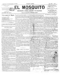 El Mosquito, September 1877 Volume Issue: September 1877 by Stein, Henri Frenchman