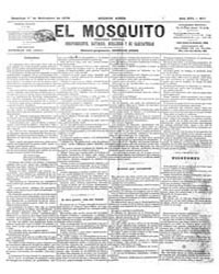 El Mosquito, September 1878 Volume Issue: September 1878 by Stein, Henri Frenchman