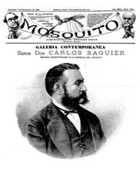 El Mosquito, September 1884 Volume Issue: September 1884 by Stein, Henri Frenchman