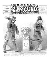 El Mosquito, September 1887 Volume Issue: September 1887 by Stein, Henri Frenchman