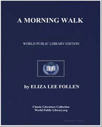 A Morning Walk by Follen, Eliza Lee