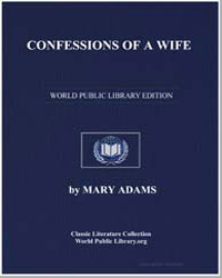 Confessions of a Wife by Adams, Mary