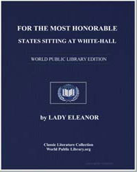 For the Most Honorable States Sitting at... by Eleanor, Lady