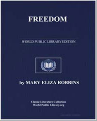 Freedom by Robbins, Mary Eliza
