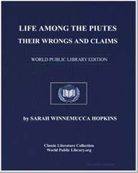 Life Among the Paiutes : Their Wrongs an... by Hopkins, Sarah Winnemucca
