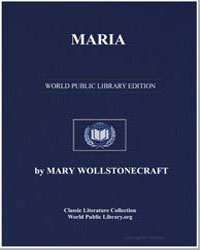 Maria or the Wrongs of Woman by Wollstonecraft, Mary