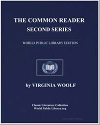 The Common Reader Second Series by Woolf, Virginia