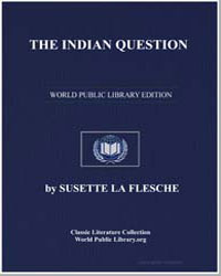 The Indian Question by Flesche, Susette La