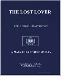 The Lost Lover by De La Riviere Manley, Mary