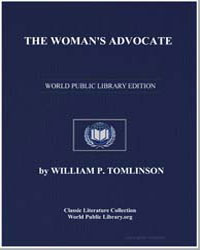The Woman's Advocate by Tomlinson, William P.