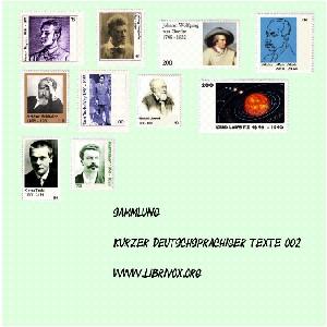 Sammlung kurzer deutscher Prosa 002 by Various