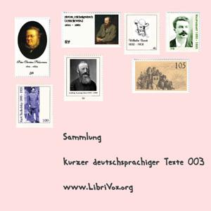 Sammlung kurzer deutscher Prosa 003 by Various