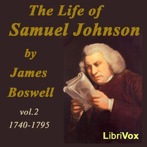 Life of Samuel Johnson Vol. II, The by Boswell, James