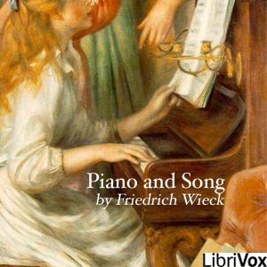 Piano and Song by Wieck, Friedrich